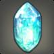Strahlender Eiskristall