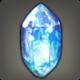 Strahlender Wasserkristall
