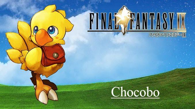FFIX Chocobo