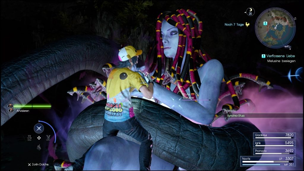 Final Fantasy 15 Königswaffen Karte.Ffxv Nebenaufgabe Verflossene Liebe