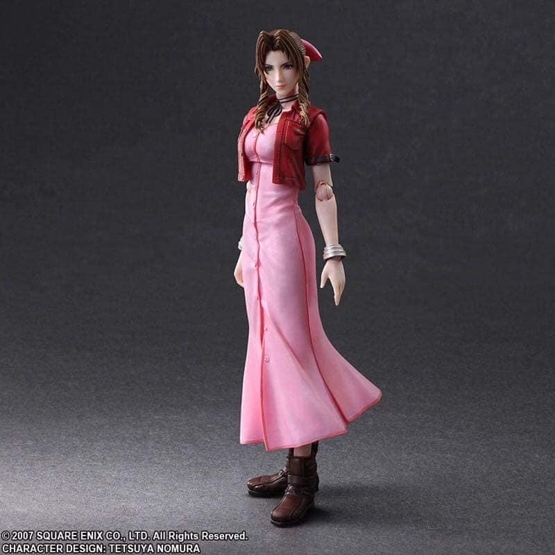 Final Fantasy Vii Advent Children Play Arts Kai Aeris