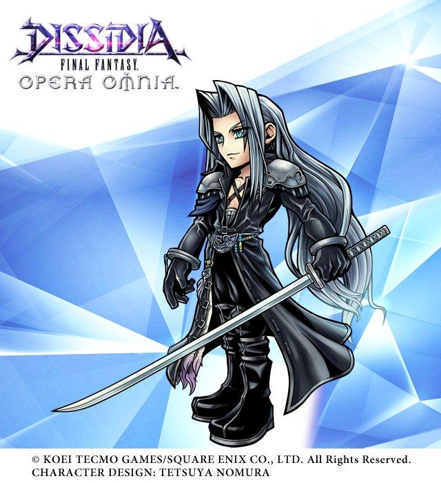Dissidia Final Fantasy Opera Omnia Sephiroth Erscheint