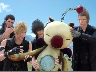 Final Fantasy XV Gruppe und Mogry