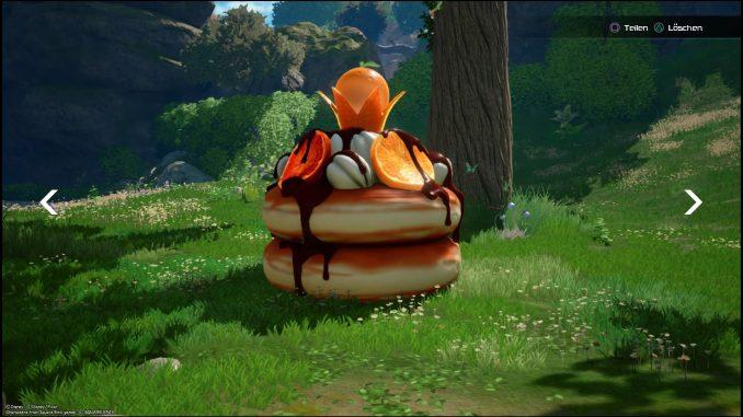 Kingdom Hearts 3 Dessert Herzloser Orange