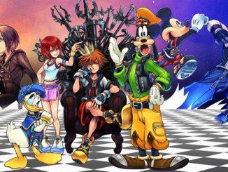 Kingdom Hearts 1.5 Cover Art