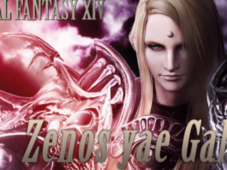 Dissidia Final Fantasy NT: Zenos yae Galvus erscheint 22