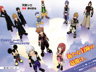 Kingdom Hearts III Manga