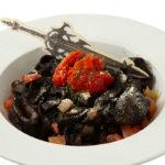 Dark Knight's Spaghetti Al Nero (Flat Noodles)