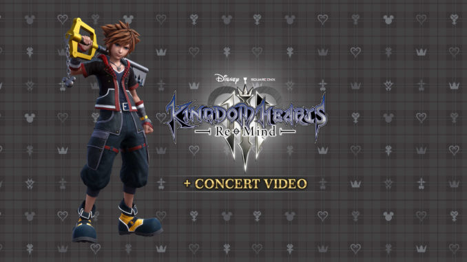 Kingdom Hearts 3 Re:Mind DLC and Orchestra