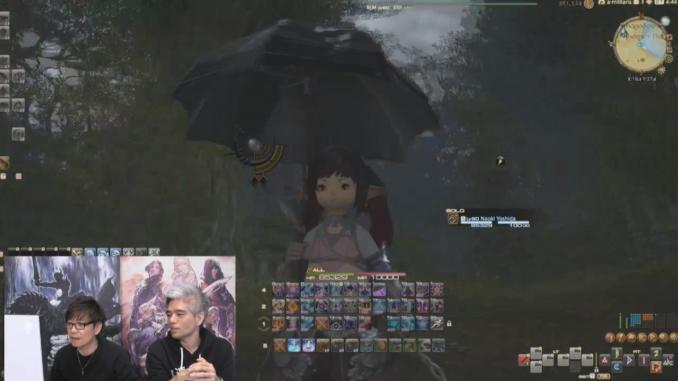 Regenschirm dunkel