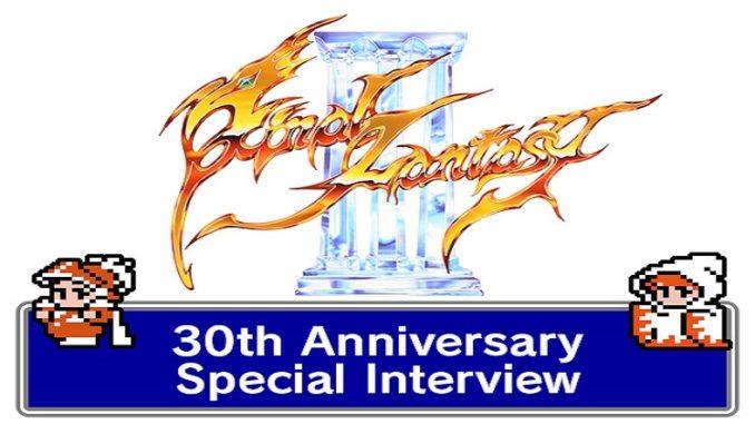 Final Fantasy 3: Besondere Interviewreihe