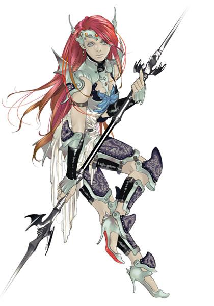 FF Dimensions - Dragoon Barbara