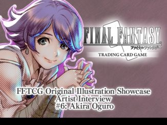 FFTCG Illustration Showcase Interview #6 - Akira Oguro