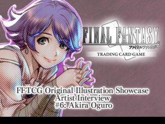 FFTCG Illustration Showcase Interview #6 - Akira Oguro