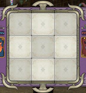 Triple Triad Spielfeld