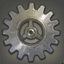 Silberzahnrad zur Himmelsstahl-Werkzeug-Vollendung
